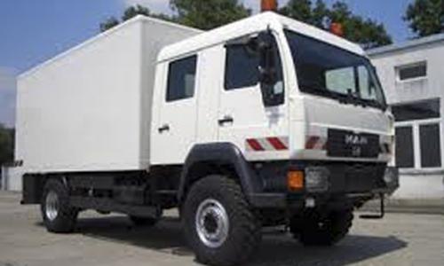 camion 4x4 man doka double cabine L2000 france caisse frigo frigorifique isotherme aménagement véhicule expédition aménageur